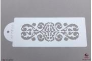 PAISLEY Sierlijke krul stencil