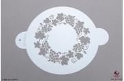 PAISLEY Druivencirkel stencil