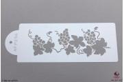 PAISLEY Druiventak stencil Small