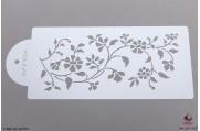 PAISLEY Sits-bloemen stencil