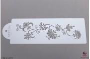 BHZ Luxe bloemen stencil Small