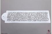 PAISLEY Moderne filigrijn stencil