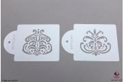 PAISLEY Manali stencils set/2