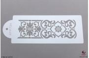 PAISLEY Victoriaanse krul stencil