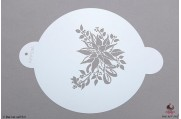 PAISLEY Kerstster stencil Topper