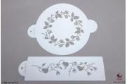 PAISLEY Rozenring stencils set/2