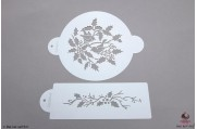 PAISLEY Hulst ring stencil set/2